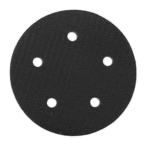 Almohadilla de cojín de 125 mm de diámetro para almohadillas de lijado (5 agujeros)