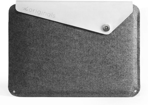 Mujjo Originals Collection Sleeve for 11 inch Macbook Air - White