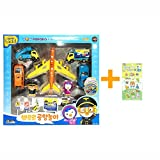 Pororo International Airport Play Set Children Kids Gift Toy Korean Animation 3D Sticker 1 Sheet