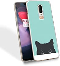 HelloGiftify Tiffany Blue&Cat TPU Soft Gel Protective Case. Compatible with Google Pixel 2 XL