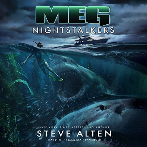 Meg: Nightstalkers audiobook cover art