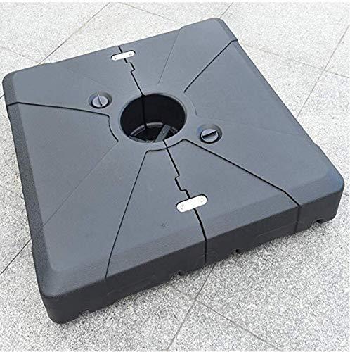PURPLEAF Schirmständer für Ampelschirme, füllbar, 100 kg