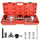Shoze Slide Hammer Dent Puller Tool Kit Wrench Adapter Axle Bearing Hub Auto Set