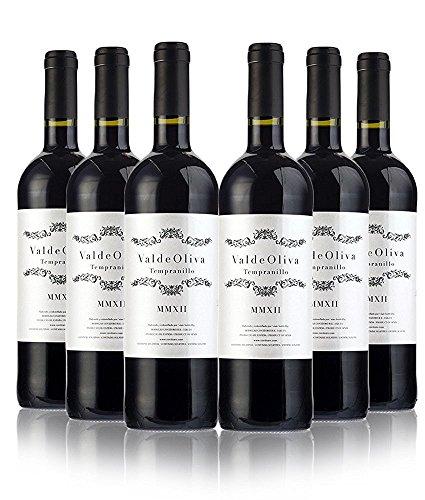 San Jamon - Valdeoliva Tinto, Vino de la Tierra de Castilla y León, 75 cl (Caja de 6)