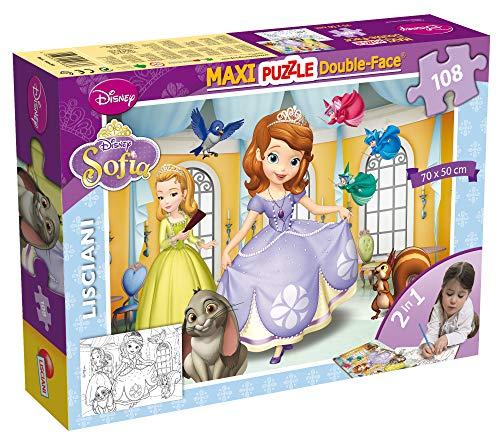 ColorBaby - Puzzle supermaxi Princesa Sofía 108 piezas - 70x50 cm (42126)