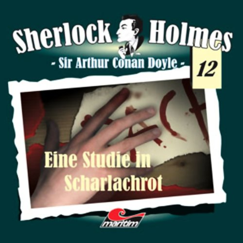 Eine Studie in Scharlachrot audiobook cover art