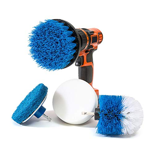Our #5 Pick is the RevoClean 4 Piece Bathroom Power Scrubber Kit