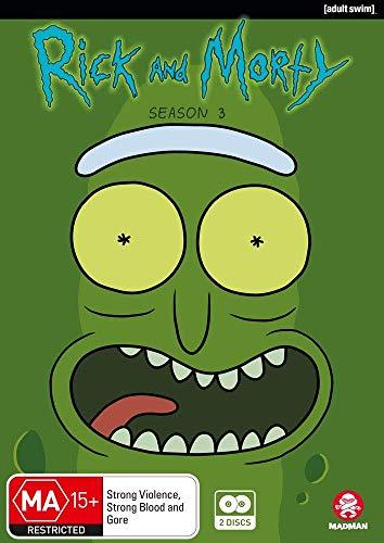 RICK & MORTY: SEASON 3 - RICK & MORTY: SEASON 3 (2 DVD)