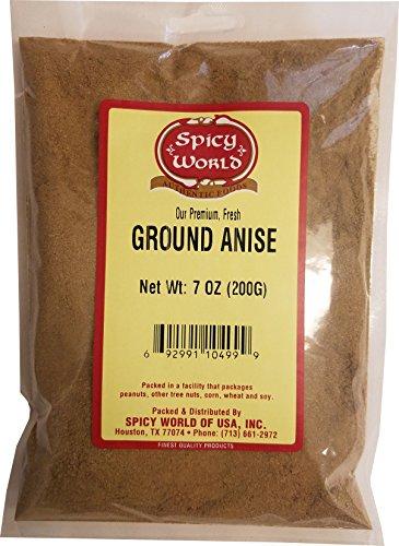 Spicy World Ground Anise Powder 7 O…
