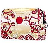 FURINKAZAN Bolsa de maquillaje de viaje de Año Nuevo de Japón para artículos de tocador, bolsa de maquillaje para hombres y mujeres