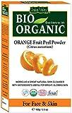 Polvo orgánico puro de la cáscara de naranja de Microfine con el libro libre 100g de la receta (Orange Fruit Peel Powder)