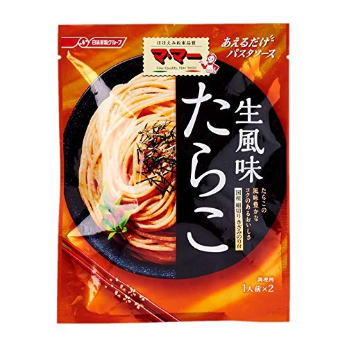 Nisshin Foods Tarako Cod Roe Nama Fumi Flavor Pasta Sauce 48g - Fresh style Tarako - delicious japanese cod roe sauce with tasty rich flavor