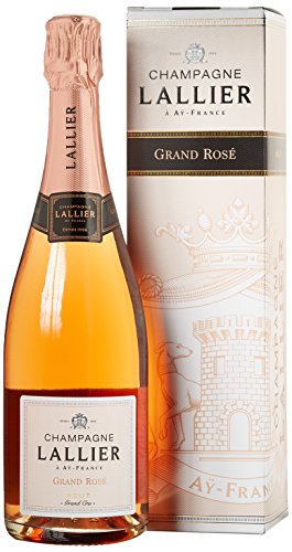 Champagne Lallier Rosé Grand Cru - in Geschenkkartonage, 1er Pack (1 x 0.75 l)