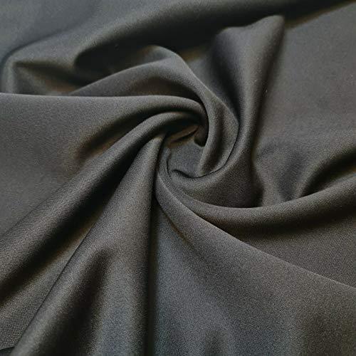 Neopren Scuba Atmungsaktiver Stretch Neoprenanzug Kleiderstoff 140 cm (schwarz)