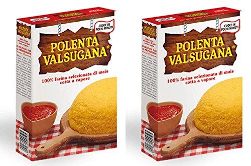 """Valsugana: Italienisches Maismehl """"Polenta"""", 375 g, 2 Stück"""