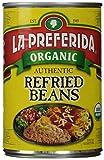 La Preferida Organic Authentic Refried Beans, 15 oz...