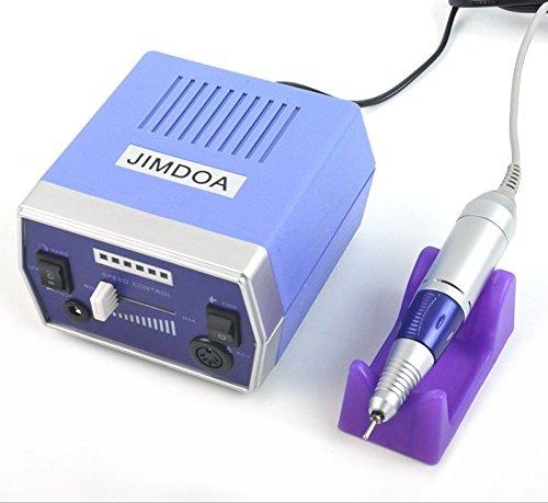 Machine à polir les ongles à haut rendement Outil de démontage des ongles spéciaux Dissipateur de chaleur Pas de bruit Contrôle du pied Utilisation professionnelle de salon,Blue