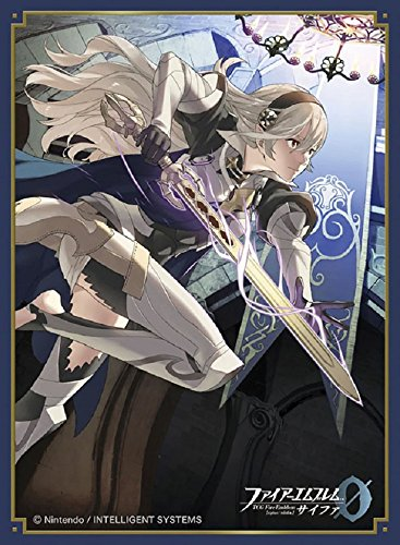 Fire Emblem 0 Cipher Princess Corrin Female Card Game Character Mat Sleeves Collection No.FE10 Matte Anime Girl Fates Avatar Kamui 10 by Movic image