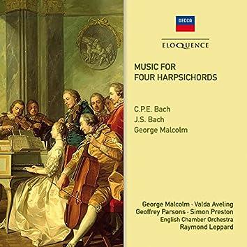 Music For Four Harpsichords