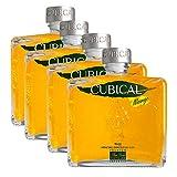 Ginebra Cubical Mango de 70 cl - D.O. Reino Unido - Bodegas Williams & Humbert (Pack de 4 botellas)