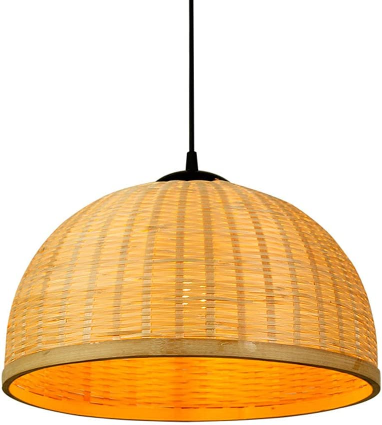 LIWENGZ Chinese Style Retro Bamboo Light Hanging Recommendation Semicirc Max 50% OFF Simple