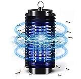 QUTAII Lámpara Mosquito Electrico, Lámpara Antimosquitos Portátil Repelente de Mosquitos Trampa de Insectos Mosquito Killer Trampa de Mosquitos para Dormitorio, Salón