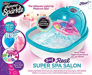 Cra-Z-Art Shimmer N' Sparkle Super Spa Salon - Pedicure Toy Set