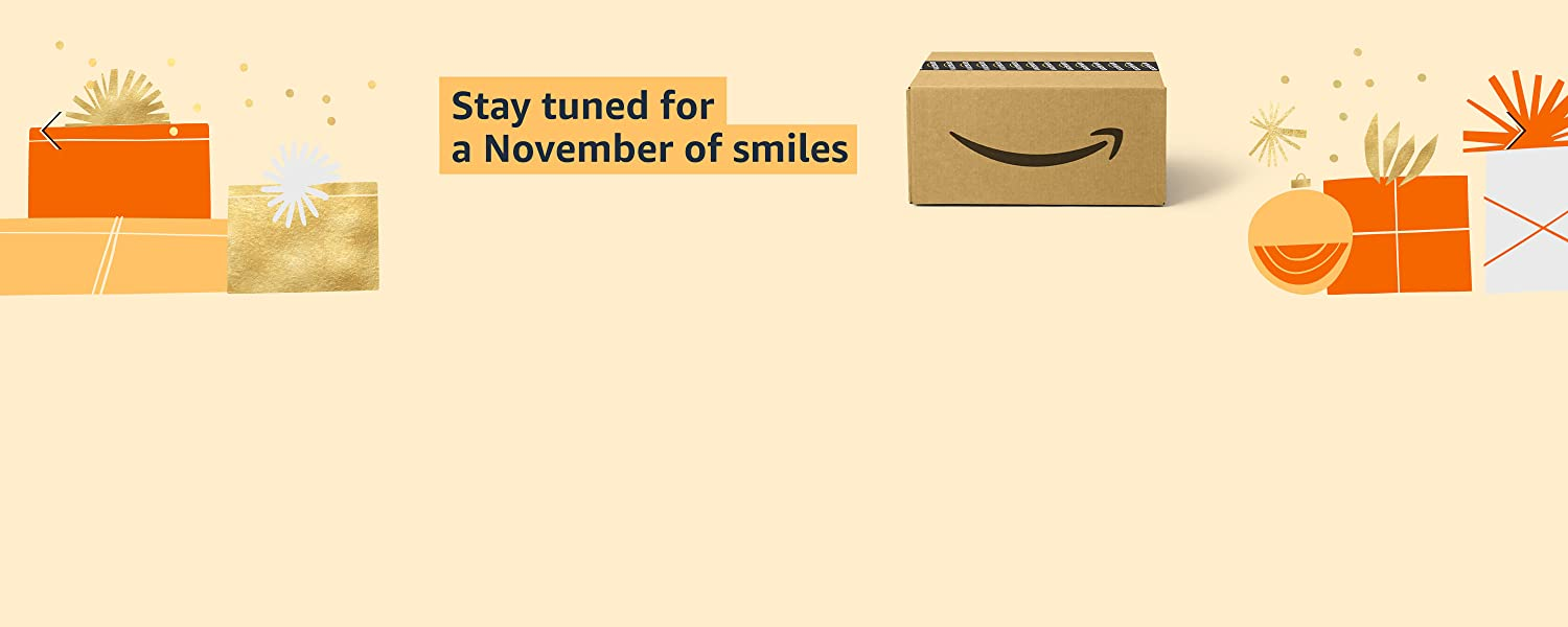 Stay tuned for A November of Smiles. Black Friday Early Access Sale starts 11.11
