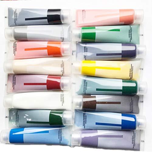colorantes alimentarios líquidos en set de 16 unidades