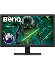 BenQ GL2780 27 Inch 1080p 1 ms 75 Hz LED Eye-Care Gaming Monitor, Anti-Glare, HDMI, Black