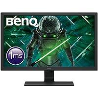 "BenQ GL2780 - Monitor Gaming de 27"" FullHD (1920x1080, 1ms, 75Hz, HDMI, DisplayPort, DVI, VGA, Altavoces, Eye-care, Sensor Brillo Inteligente, Flicker-free, Low Blue Light, antireflejos) - Color Negro"