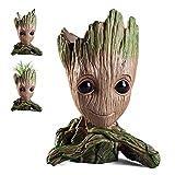 Baby Groot Blumentopf Stifthalter,Stiftehalter mit Zeichentrickfigur, Geschenkidee für Kinder zu...