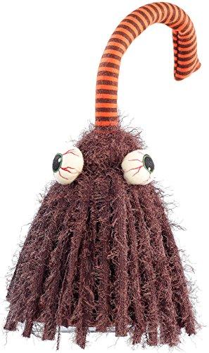 infactory Halloween Figuren: Singender und rockender Besen Igor (Halloweendeko)