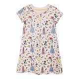 プリンセス 半袖パジャマ 寝巻き 部屋着 ワンピース ネグリジェ 女の子 ガールズ 子供用 120cm 【並行輸入】Disney Princess Nightshirt for Girls Size: 5/6