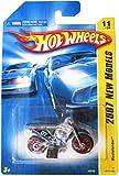 Hot Wheels 2007 New Models Wastelander Dirt Bike Dirtbike Motorcycle Charcoal Gray Silver