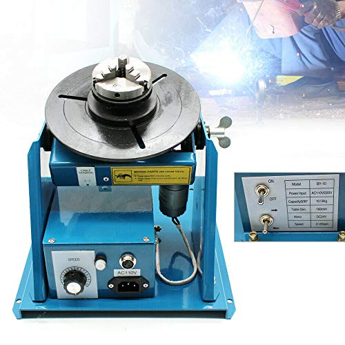 OUKANING - Aparato de soldadura (220 V, 10 kg, mesa giratoria de soldadura, manipulador de soldadura, 2-20 r/min)