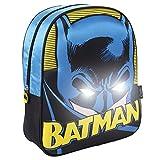 Batman Mochila infantil luces 3d