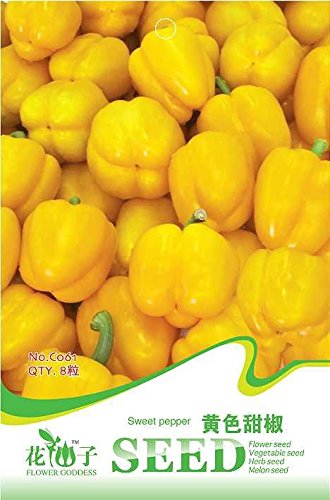 Mixed Seeds Couronne Chili Pepper Bishop, Bulk Pack, 200 graines / paquet, rares Trinidad UFO Peppers KK005 comestibles
