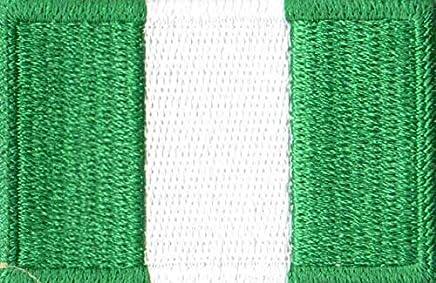 Patch Bordado - Bandeira Da Nigéria Pequena BD50254-352 Termocolante