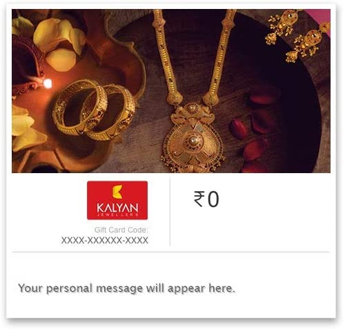 Kalyan Jewellers Gold E-Gift Card product image