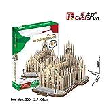 Tachan Puzzle 3D Capitolio de Washington Cubic Fun MC074