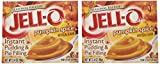 Kraft Jell-o Instant Pudding & Pie Filling, Pumpkin, 3.4-ounce Boxes (Pack of 8)