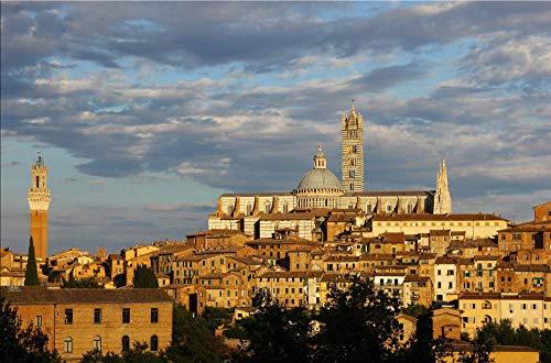 Puzzle 1000 Pezzi di Puzzle Siena Toscana per Regalo per Adulti