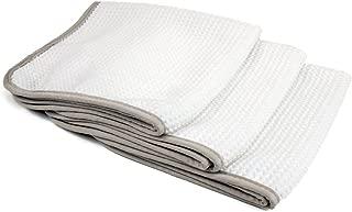 [No Streak Freak] Microfiber Window Mirror Waffle Towel...