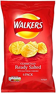 walkers ready salted 6 pack