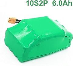 6.0Ah 36V batería recargable de iones de litio para scooter eléctrico auto equilibrio scooter hoverboard monociclo 10S2P