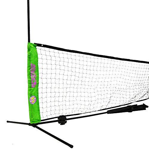 Topspin Multifunktionales Netz 3m Höhenverstellbar inkl. Tasche - Tennis Netz Badminton Netz Volleyball Netz Beachvolleyball Netz