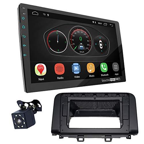 UGAR EX10 10 pollici Android 10.0 DSP Navigazione GPS per Autoradio + 22-387L Kit di Montaggio compatibile per HYUNDAI Kona 2017+; Kaual, Encino 2018+