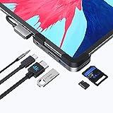 51vZr5XtXPL. SL160  - Meilleur HUB USB-C 6 Ports à Clipser sur iPad Pro