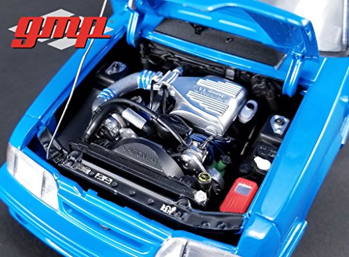 """GMP 18889 1:18 """"MOTOR and TRANSMISSION ONLY"""" 1993 Ford Mustang Cobra 1320 Drag Kings """"King Snake"""" Supercharged 302 5.0L"""